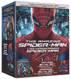 The Amazing Spider-Man 3D: Edition Limitée Collector + Figurine [Blu-ray 3D + Blu-ray + DVD]