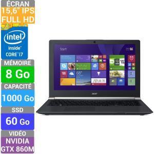 """PC Portable 15.6"""" Acer Aspire V Nitro (i7-4710HQ / GTX860m / 8Go RAM) + NBA 2015 et PES 2015 (Avec ODR de 50€)"""