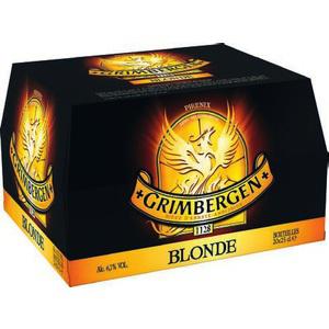 Pack de 20x 25 cl bière blonde Grimbergen (9,29€ sur carte + bon de réduction)