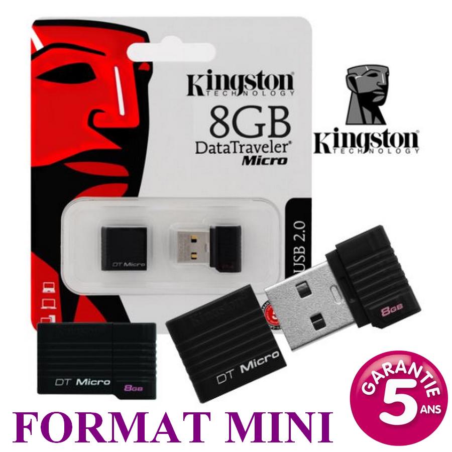 Mini clé USB Kingston 8Go