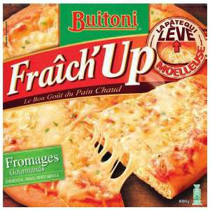 Pizza fraich up surgelé Différentes variétés buitoni (2,18€ sur carte)