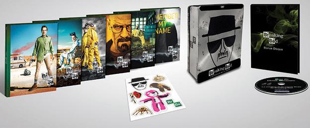 L'intégrale Breaking Bad en coffret DVD - Edition limitée boitier métal