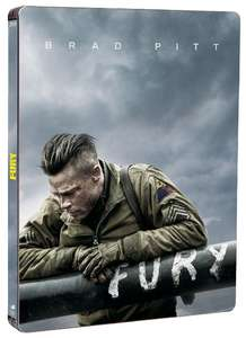 Fury steelbook Blu-ray (dernier Brad Pitt) en pré-commande