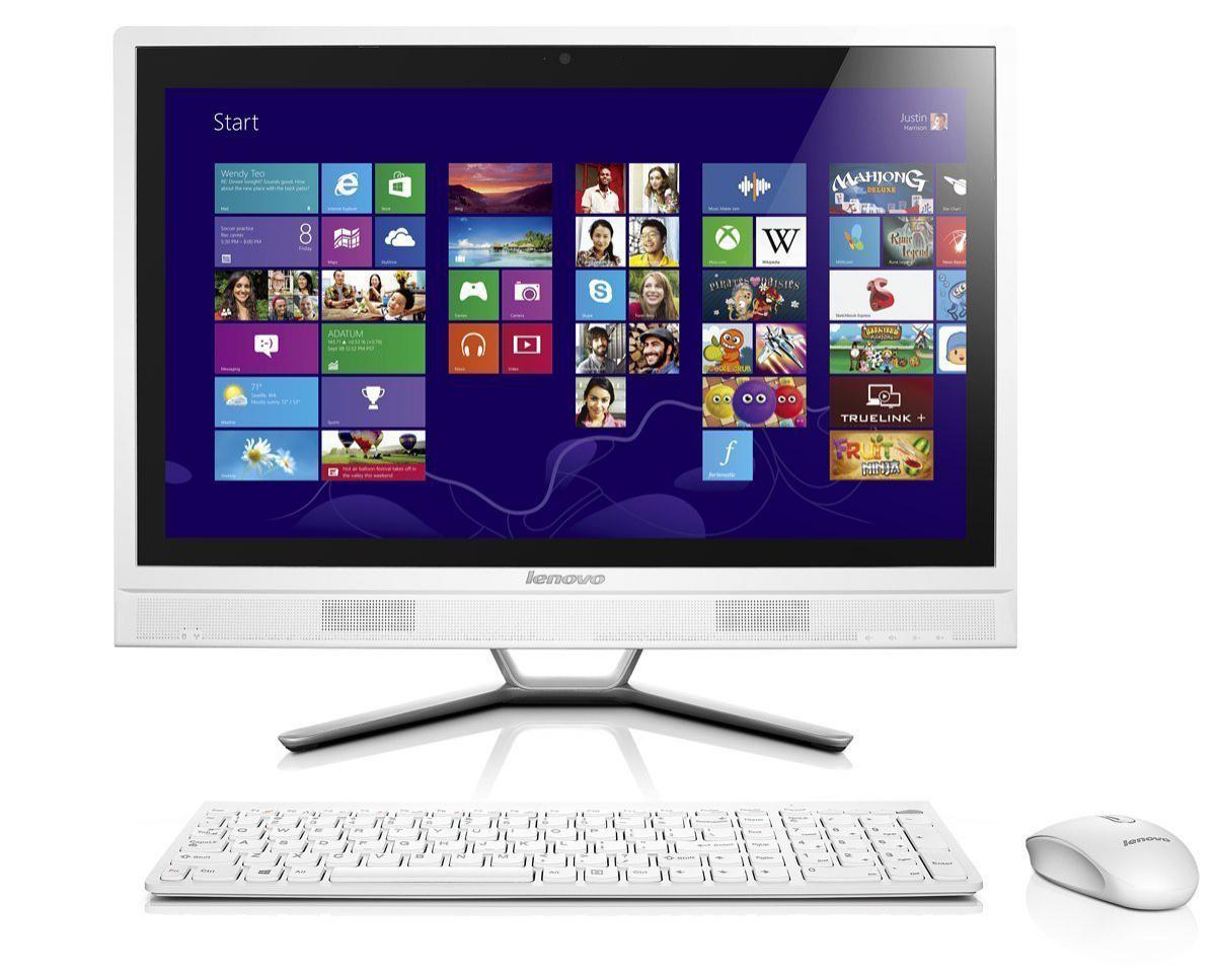 """Ordinateur Tout-en-Un Tactile 23"""" Lenovo Aio C560 (Intel Core i5, 4 Go de RAM, HDD 1 To)"""