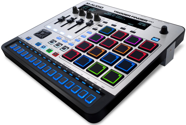 Surface de contrôle Midi  M-Audio Trigger Finger Pro