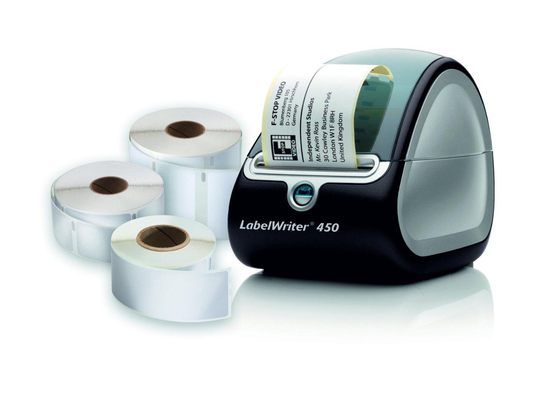 Imprimante d'étiquettes USB et 3 rouleaux d'étiquettes Dymo LabelWriter 450  (ODR 20%)