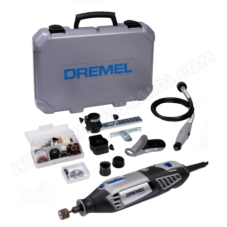 Outil de précision Dremel 4000 4/65 Platinium Edition  + 65 accessoires (ODR 15 €)