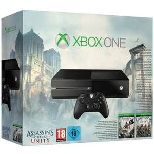 Console Xbox One Pack Assassin's Creed Unity + Black Flag