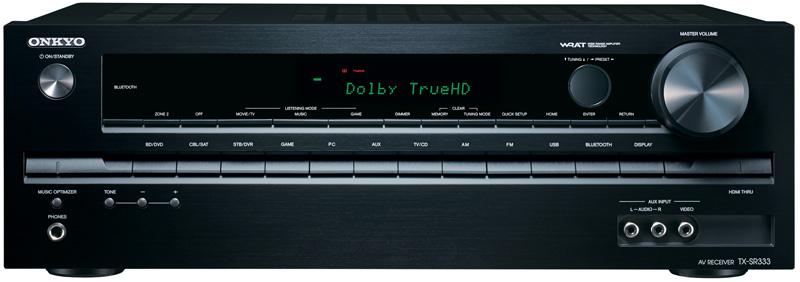 Amplificateur home cinéma Onkyo TX-SR333 - 5.1 - bluetooth