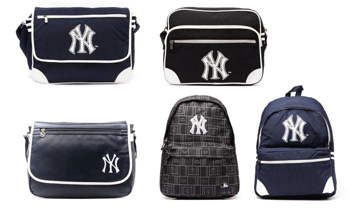 Petite maroquinerie Major League Baseball siglé NY au choix dès