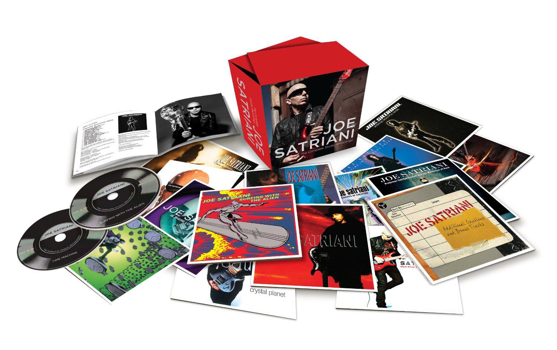 Coffret 15 CD - Joe Satriani - The Complete Studio Recordings