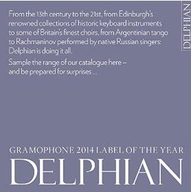 Album Sampler Delphian Label MP3 gratuit