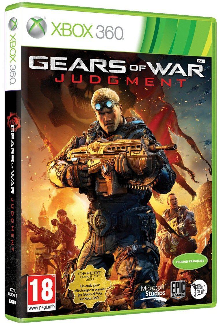 Jeu Xbox 360 Gears of War Judgment (+ Gears of War 1  Inclus)