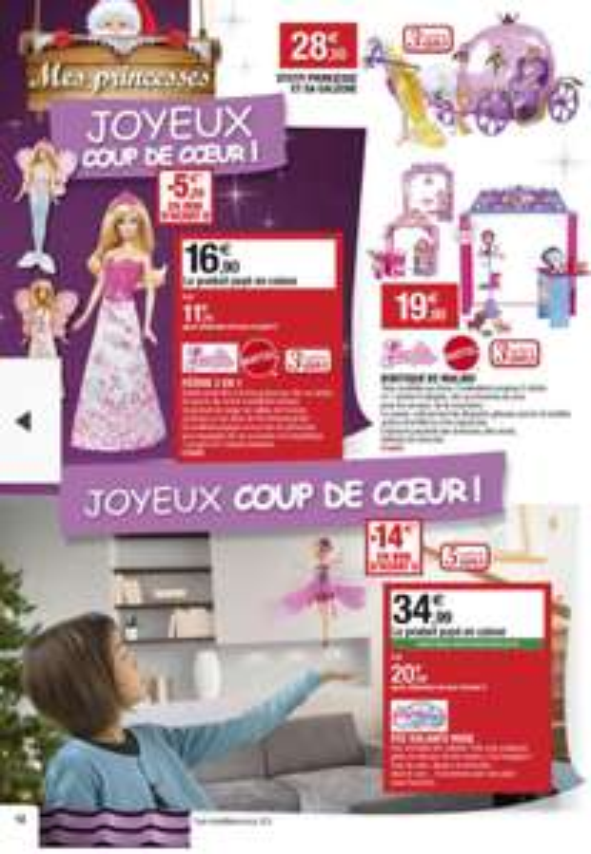 Fée volante + Barbie féérie 3 en 1 (+ 29,2€ de bons d'achat)