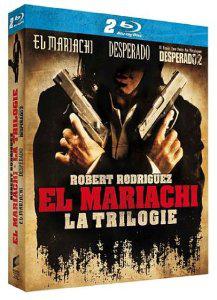 Coffret Blu Ray Trilogie El mariachi / Desperado / Desperado 2