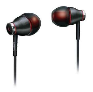 Écouteurs intra-auriculaires Philips SHE9000 Turbo Bass Noir / Rouge