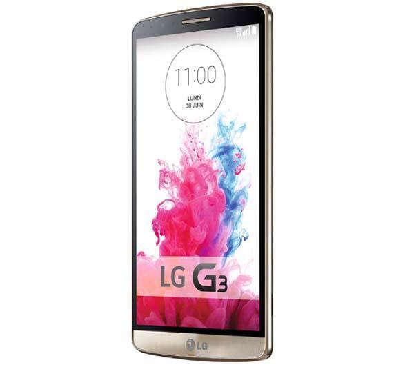 Smartphone LG G3 Gold/Titanium/Noir/Blanc (Avec ODR de 50€ et 124,75€ sur la carte Auchan)