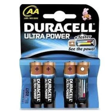 Pack de 4 piles Duracell ultra power ( Réduction + Shopmium + C-wallet )