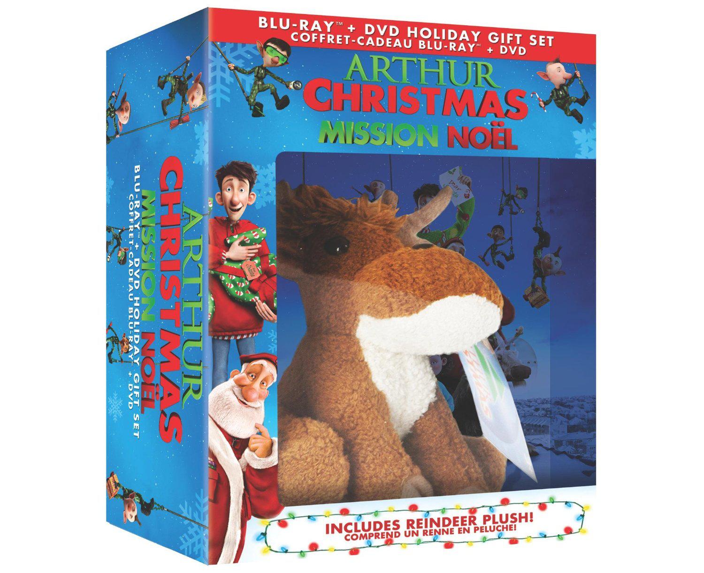 Blu Ray 3D Les aventures de la famille Noël + Peluche