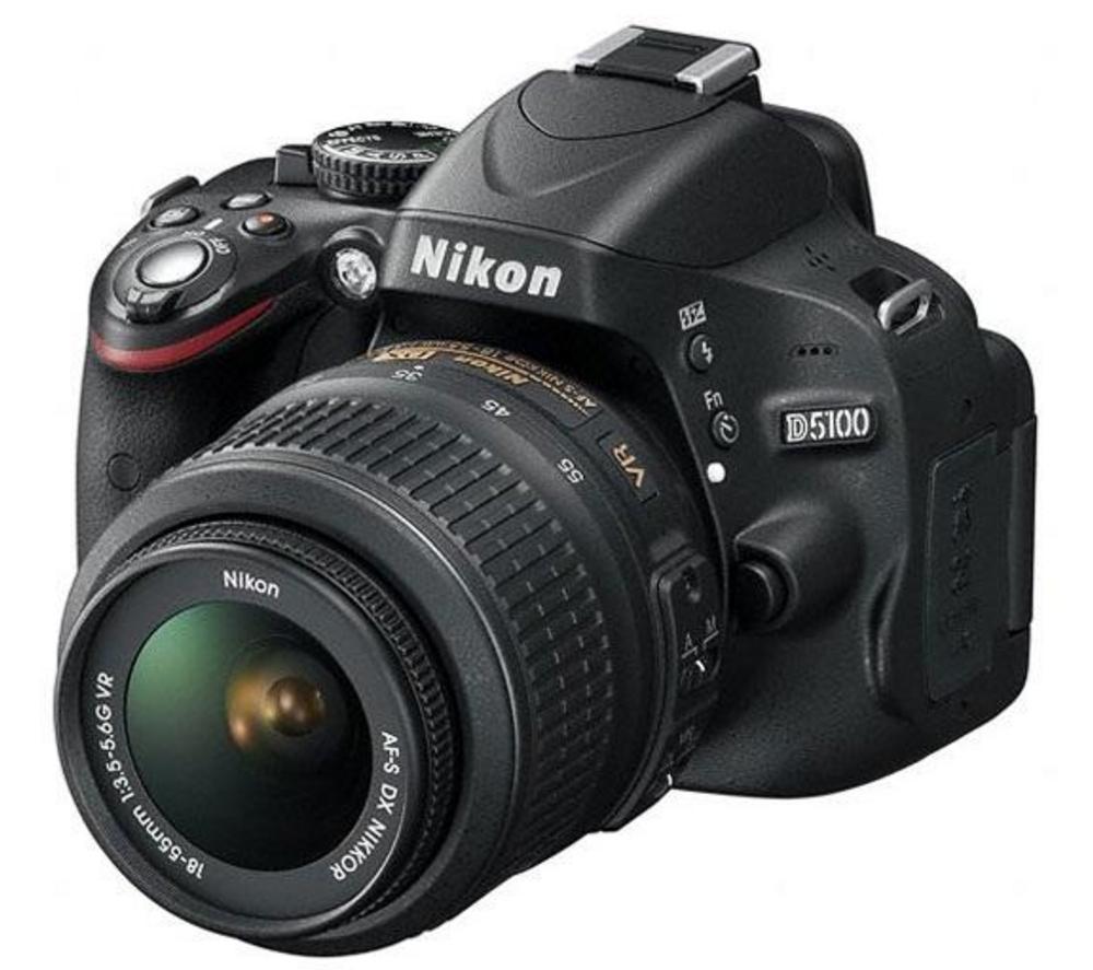 Reflex Nikon D5100 + DX 18-55mm VR