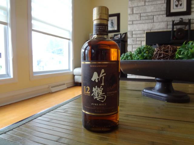 whisky japonais 70cl  Nikka Taketsuru 12 ans
