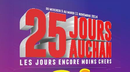 Sélection d'optimisations 25 Jours Auchan - Épisode 2 en magasin