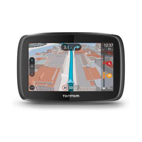 GPS Tomtom Go 400 + Carte zones de danger (3 mois) + Housse (114,50€ sur la carte Auchan)