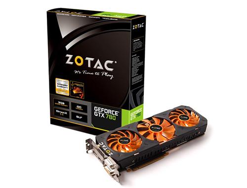 Carte graphique Zotac GTX 780 OC 3Go