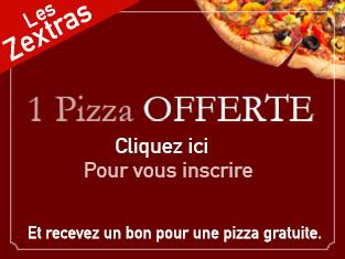 Bon pour une pizza gratuite pour votre prochain achat (valable 72h)