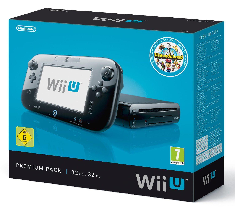Console Nintendo Wii U 32 Go - Nintendo Land Premium Pack
