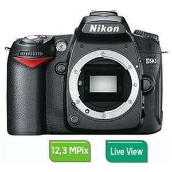 Boitier Reflex Nikon D90 (Nu)