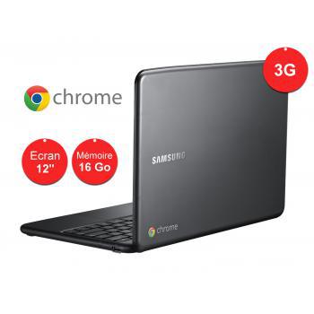 """Samsung Chromebook Série 5 12"""" 3G Silver"""