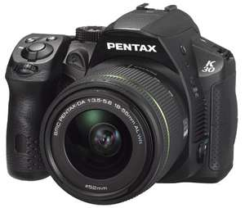 Reflex Pentax K-30 Noir + Obj. Pentax Smc-DA 18 - 55 mm f/3.5 - 5.6 ED AL WR