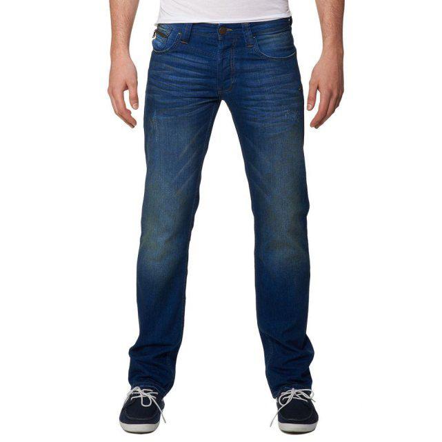 Selection de jeans en soldes - Ex : Teddy Smith Ruben Electric Blue