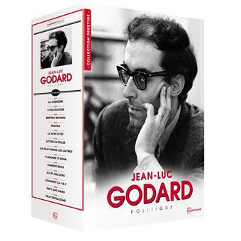 Coffret DVD 13 films Jean-Luc Godard : Politique - Edition Prestige