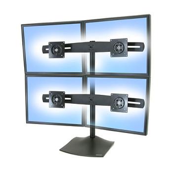 """Support quatre écrans Ergotron DS100 33-324-200 (24"""" max)"""
