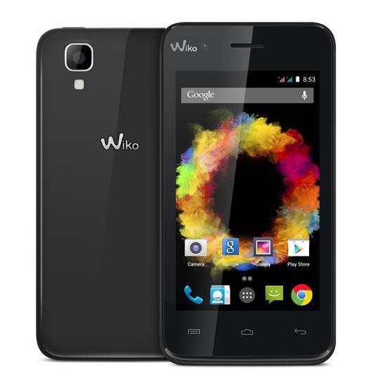 Smartphone Wiko Sunset Double SIM - 4 Go Noir + Carte mémoire Micro SDHC 8 Go