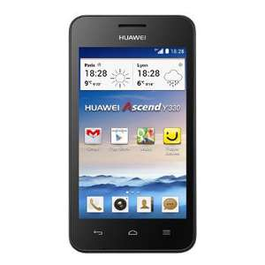 Smartphone Huawei Ascend Y330 Jaune