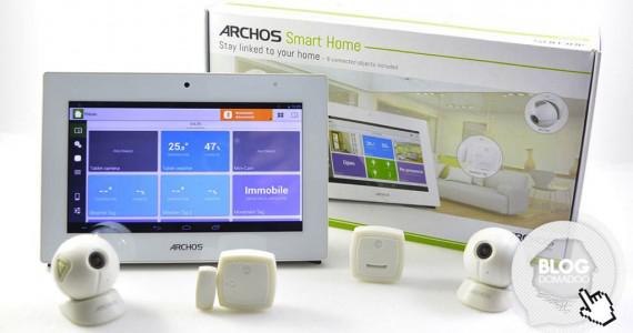 Pack domotique avec centrale + 6 modules Archos Smart Home 502660