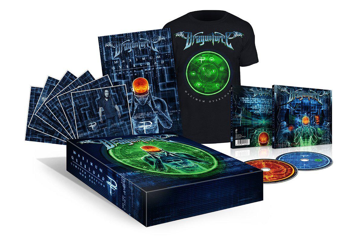 Coffret CD DragonForce Maximum Overload Deluxe Edition