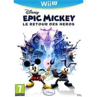 Jeu Wii U Epic Mickey