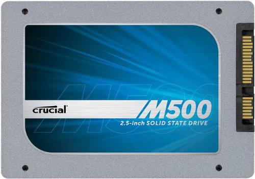 Disque Dur SSD 480 Go  interne 2,5'' SATA III  Crucial M500 CT480M500SSD1