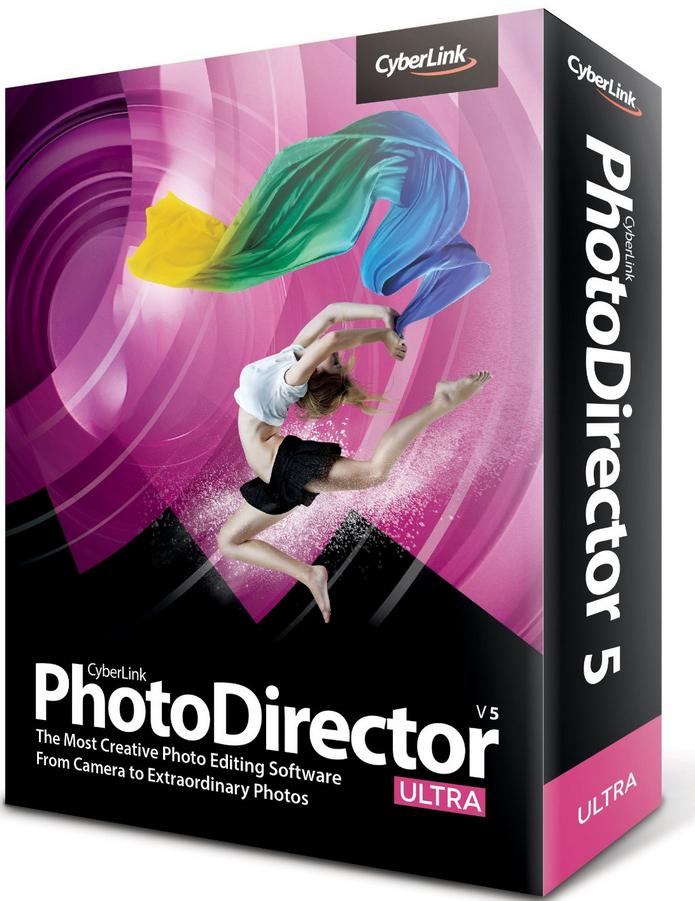 Logiciel CyberLink Photodirector 5 HE Gratuit (au lieu de 39.95€)