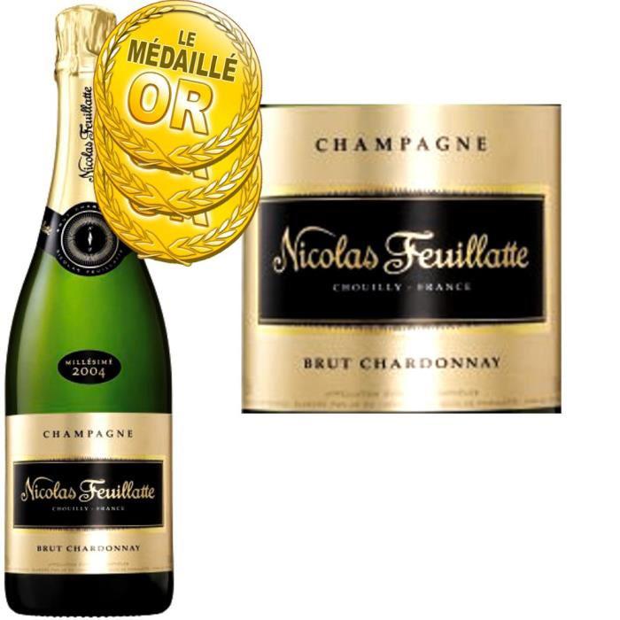 Champagne Millésimé 2004 N. Feuillatte Brut Chardonnay (+20€ en bons d'achat)