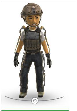 Costume avatar Xbox call of duty gratuit
