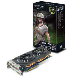 Carte Graphique Sapphire AMD Radeon HD7870 XT 2Go reconditionnée