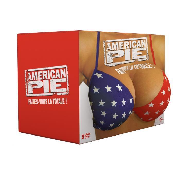"""Coffret DVD """"American Pie - Faites vous la totale !"""" (8 films)"""