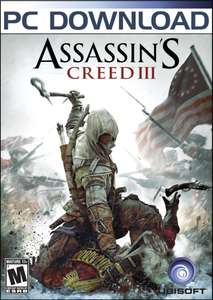 Assassin's Creed III ou Assassin's Creed 2 Deluxe Edition sur PC (Dématérialisé - Steam)
