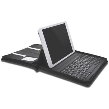 Etui avec clavier Bluetooth Kensington KeyFolio Executive pour iPad Air