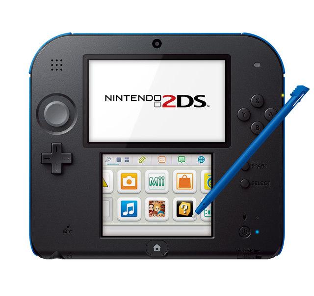 Console Nintendo 2DS - Bleue/noire ou Blanche/rouge